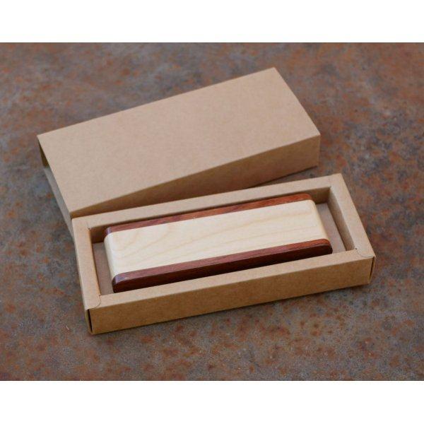 Plumier Stylo bois gravés dans coffret à personnaliser